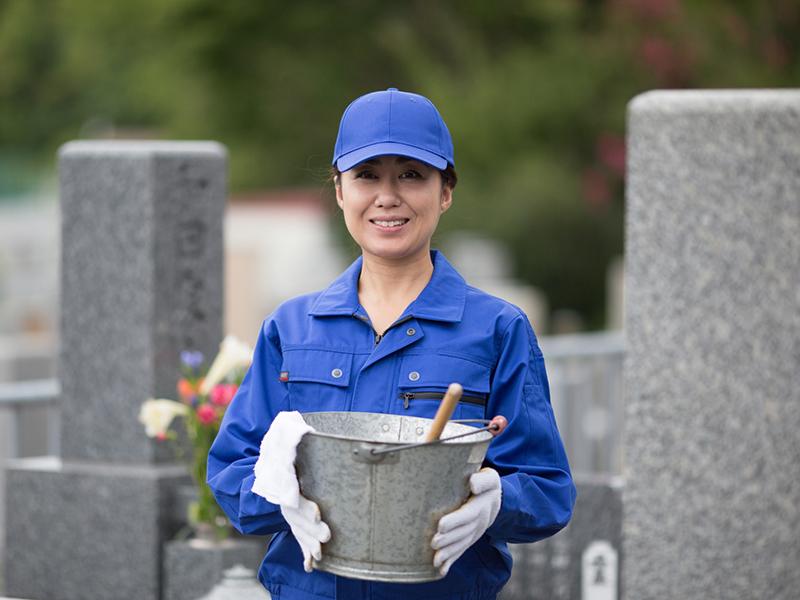 フランチャイズ 墓石クリーニング